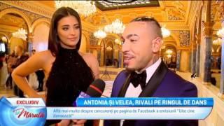 Antonia si Velea, rivali pe ringul de dans