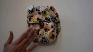 Stoffwindeln im Test: Die Simplex One Size der Firma Blueberry