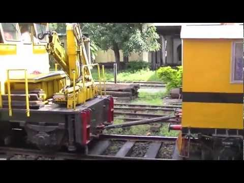 Sri Lanka Railway - Welded rail transport