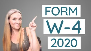 How to Fill Out the NEW W-4 for 2020 and Beyond [Example/married/business owner]