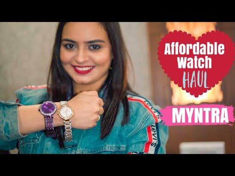 MYNTRA Watch Haul +Review | Dressberry Affordable Watches