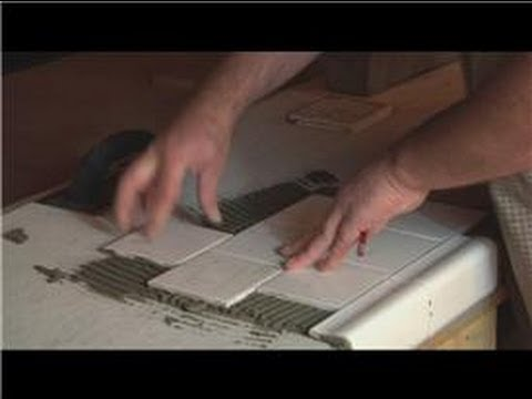 Tile Kitchen Tables Kitchen tile basics putting tile on a wooden kitchen table youtube workwithnaturefo