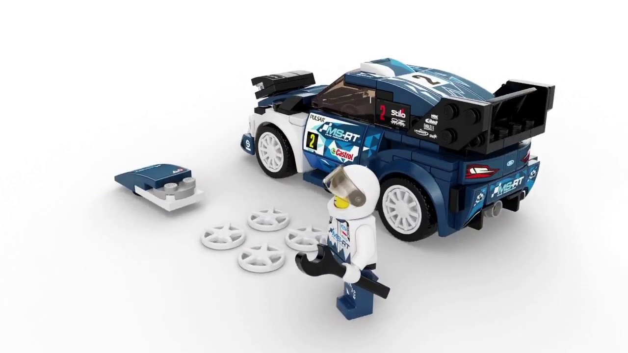 LEGO Speed Champions 75885 Konstruktionsspielzeug Ford Fiesta M-Sport WRC