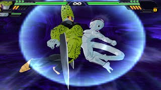 cell and frieza fusion   freecell vs goku gt super 17 piccolo dbz budokai tenkaichi 3 mod