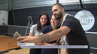 Un joueur français inaugure un nouveau terrain indoor dans les Yvelines