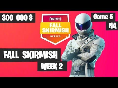 Fortnite Fall Skirmish Week 2 Game 5 NA Highlights (Group 2) - Royale Flush