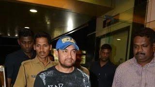 Aamir Khan Attends Saurabh Shukla