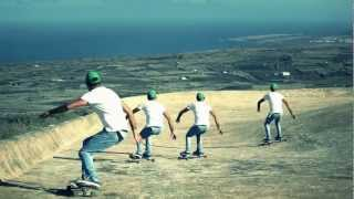 "LongboardFamara - Video Test Part 1 ""Volcano Surfing"""
