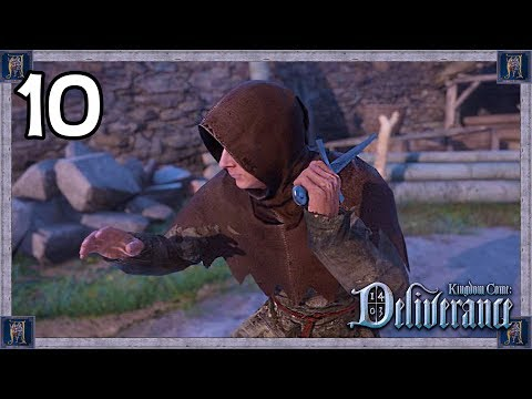 This Stealth Mission Is CRAZY! - Kingdom Come: Deliverance Gameplay #10