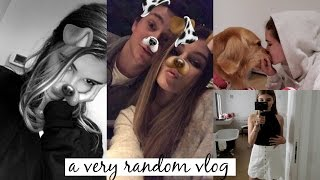 VLOG: boyf is home, organizing my makeup, parties & more l Olivia Jade