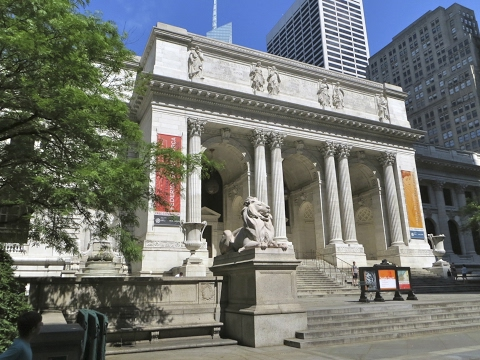 Tourist in Your Own Town #47 - New York Public Library - Main Branch