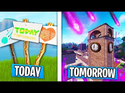 Today Is The LAST DAY Of TILTED TOWERS in Fortnite! (METEOR HITS TOMORROW!)