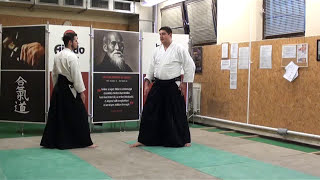 ushiro katate kubijime ikkyo [TUTORIAL] Aikido empty hand advanced techniques