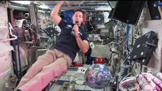 New Space Station Crew Member Discusses Life in Space with French Journalists