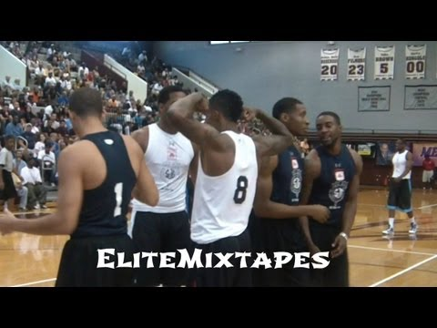 Brandon Jennings Makes Most of NBA Lockout! 2011 NC Pro-Am Highlights!