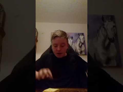 Impossible cream cracker challenge