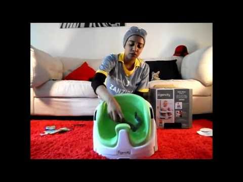 INGENUITY BABY BASE 2-IN-1 BOOSTER SEAT UNBOXING [ItsFiffysLife]