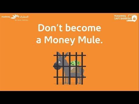 Don't become a Money Mule! Safe Banking Tips by Mashreq