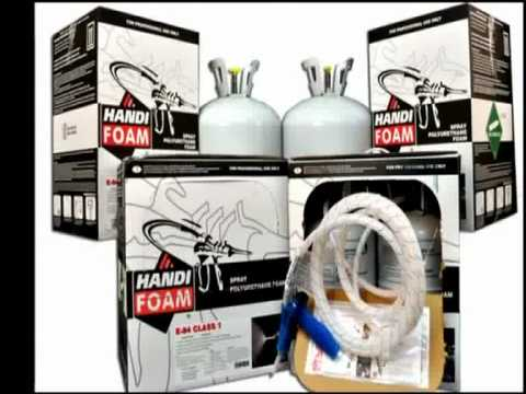 handi foam p10762 ii 605 e84 class 1 polyurethane spray. Black Bedroom Furniture Sets. Home Design Ideas