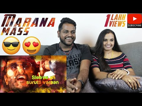 Petta - Marana Mass Song Reaction Review | Malaysian Indian Couple | Rajinikanth
