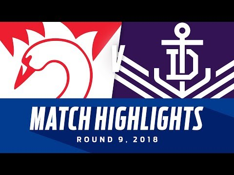Match Highlights: Sydney v Fremantle | Round 9, 2018 | AFL