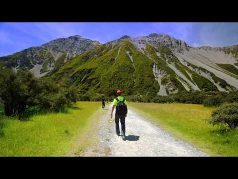 Travel in New Zealand South Island 2016