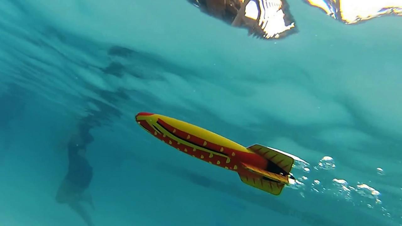 Torpedo in Pool - YouTube