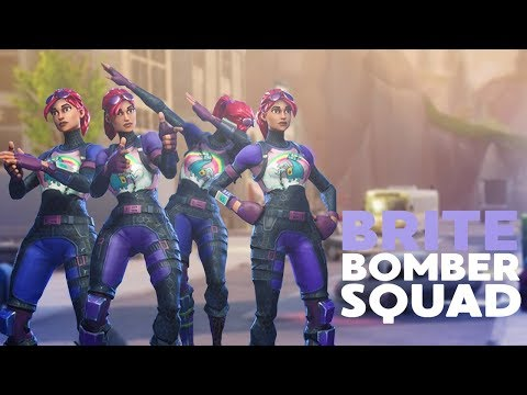 BRITE BOMBER SQUAD! ft. FaZe Dirty, SoaR Thief and SoaR Kruzer (Fortnite Battle Royale)
