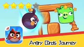 Angry Birds Journey 46 Walkthrough Fling Birds Solve Puzzles Recommend index four stars
