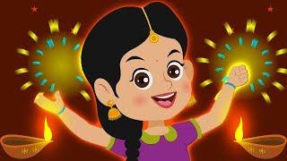 Happy Diwali Song | Hindi Traditional Rhymes For Children | Shubh Dipawali | Kids Rhymes