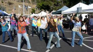 Get Down Tonight 70's Flash Mob Cambria