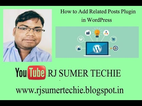 How to Add Related Posts Plugin in Wordpress