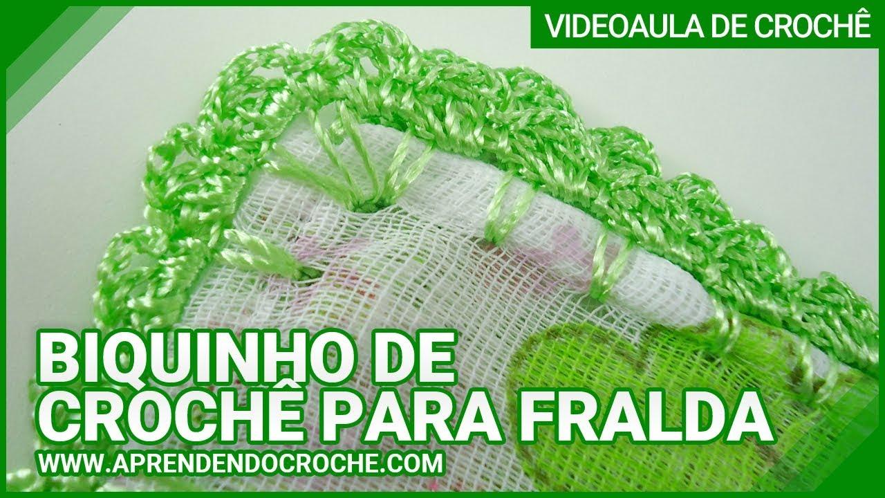 1eb0004ce Bico de Crochê – 70 Modelos de Barrado de Crochê & Tutorial Fácil!