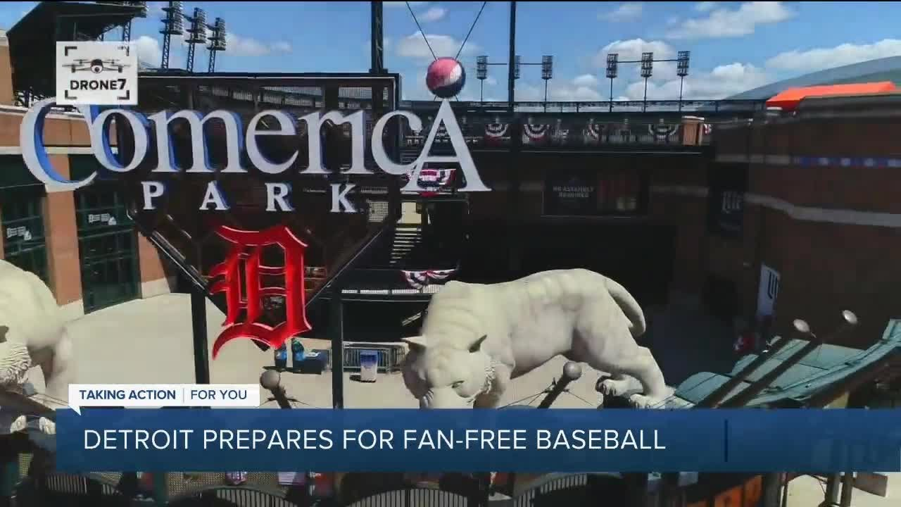 No fans at Comerica Park: How to watch Detroit Tigers' home ...