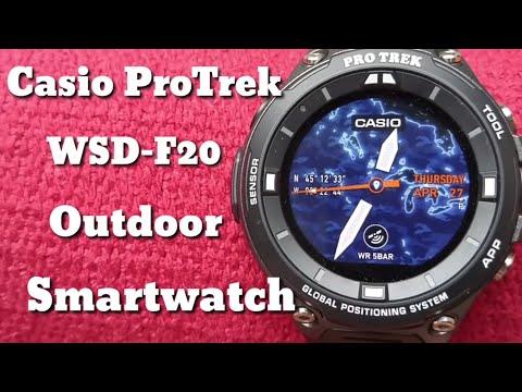 Casio ProTrek WSD-F20 : Create and Follow a Route