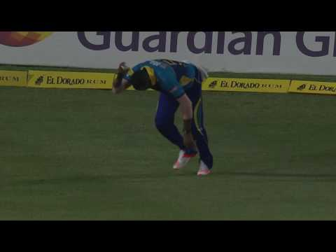 CPL 2016 Highlights - St Kitts and Nevis Patriots v Barbados Tridents