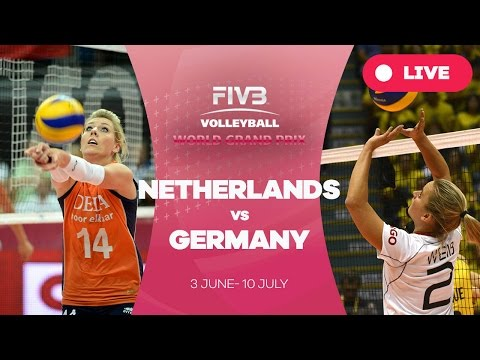 Netherlands v Germany - Group 1: 2016 FIVB Volleyball World Grand Prix