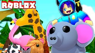 I Adopted ALL The Pets In Roblox Adopt Me! NEW FAMILY
