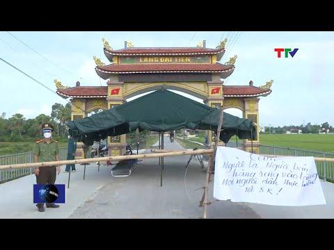 Khoanh vùng, truy vết, khống chế dịch COVID-19 tại huyện Nông Cống | PTTH Thanh Hóa