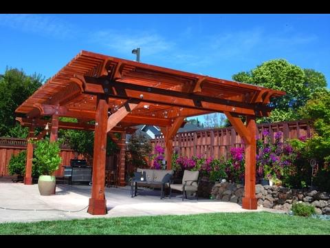 Como construir terraza de madera youtube Como disenar una terraza