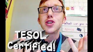 TESOL CERTIFICATE! Special offer from IOA affiliate Teacher Wil!