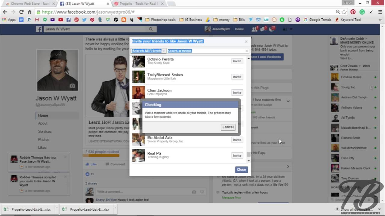 How to Invite All facebook friends to like Fan Page at once 2016