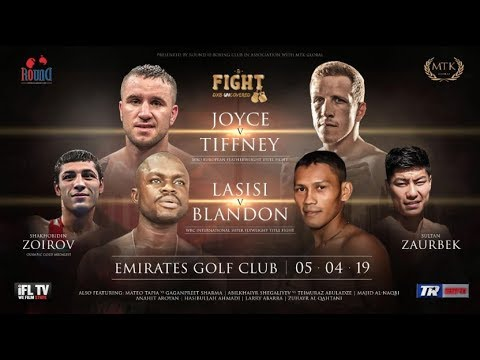 **LIVE BOXING IN DUBAI** - ROUND 10 BOXING & MTK GLOBAL PRESENTS ... *THE FIGHT - DXB UNCOVERED*