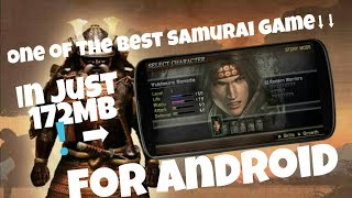 One of the best samurai! Samurai Warriors state of war for just 172mb