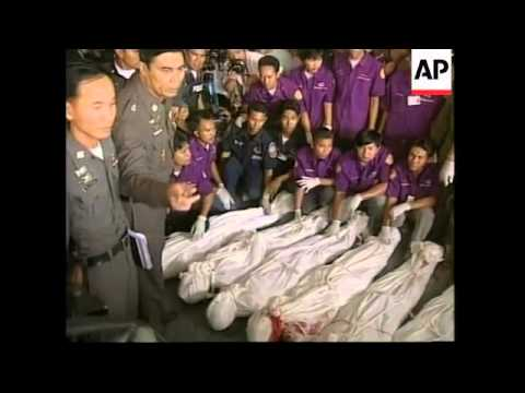 THAILAND: HOSTAGES SITUATION: RESCUE (V)