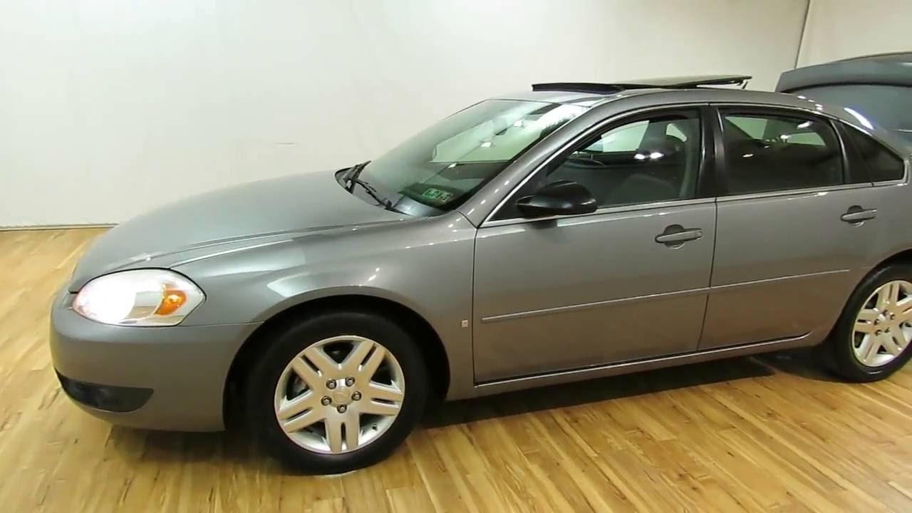 2006 Chevrolet Impala LTZ LEATHER SUNROOF #Carvision - YouTube