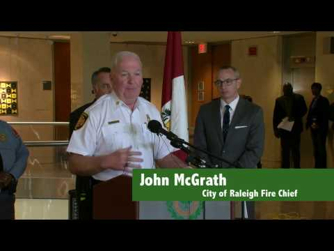 Downtown Raleigh Fire News Conference - March 17, 2017