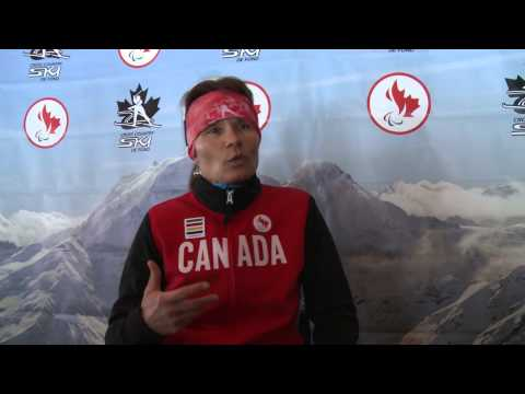 Colette Bourgonje -- Paralympic Canadian Athlete