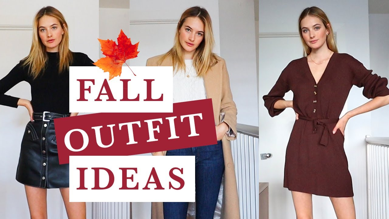 [VIDEO] - Fall Fashion Outfit Ideas | Vintage Finds, Fall Must Haves, & My Closet | Sanne Vloet 1