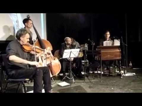 David Bramwell sings Ivor Cutler's Wooden Tree